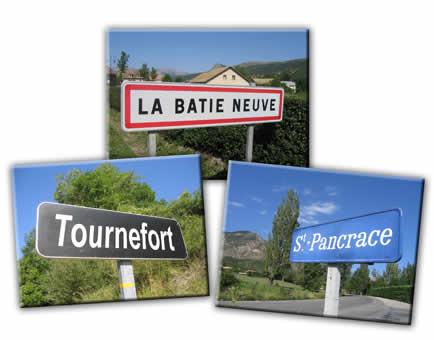 La Bâtie Neuve, Saint-Pancrace, Tournefort