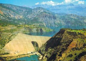 Serre-Ponçon : le barrage
