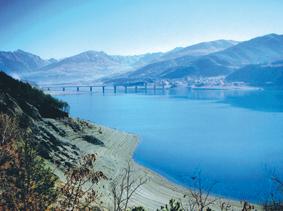 Serre-Ponçon : le Pont de Savines