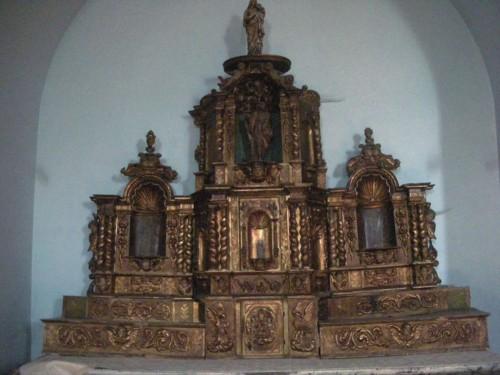 La Bâtie-Neuve : autel baroque