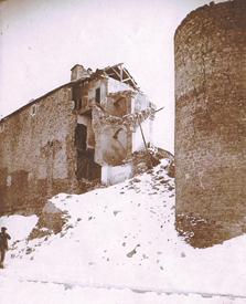 Le Château à sa destruction en 1951