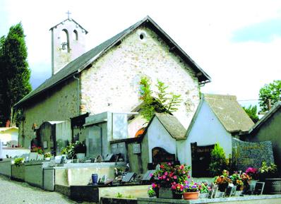 Eglise de Saint-Pancrace et son cimetière