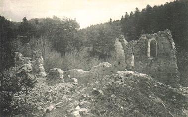 Ruines de la Chartreuse de Durbon