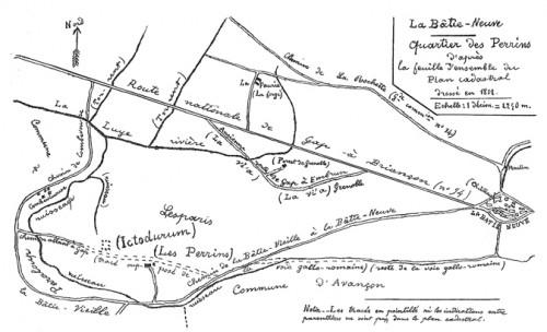 Localisation du quartier des Paris