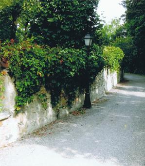Mur du Barri derrière lequel fut assassiné Antoine ROSTAIN de BATAILLE