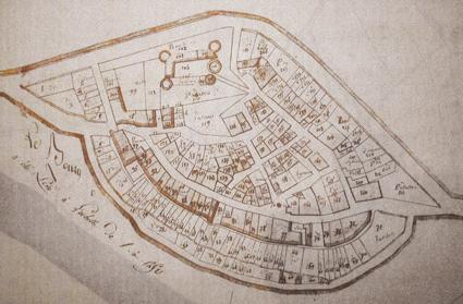 Carte du Boug – Cadastre Napoléon 1815